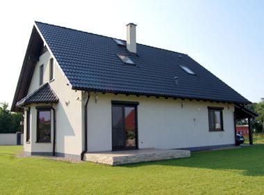 Domikon - Dom z poddaszem użytkowym