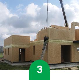 3 etap budowy domu Domikon