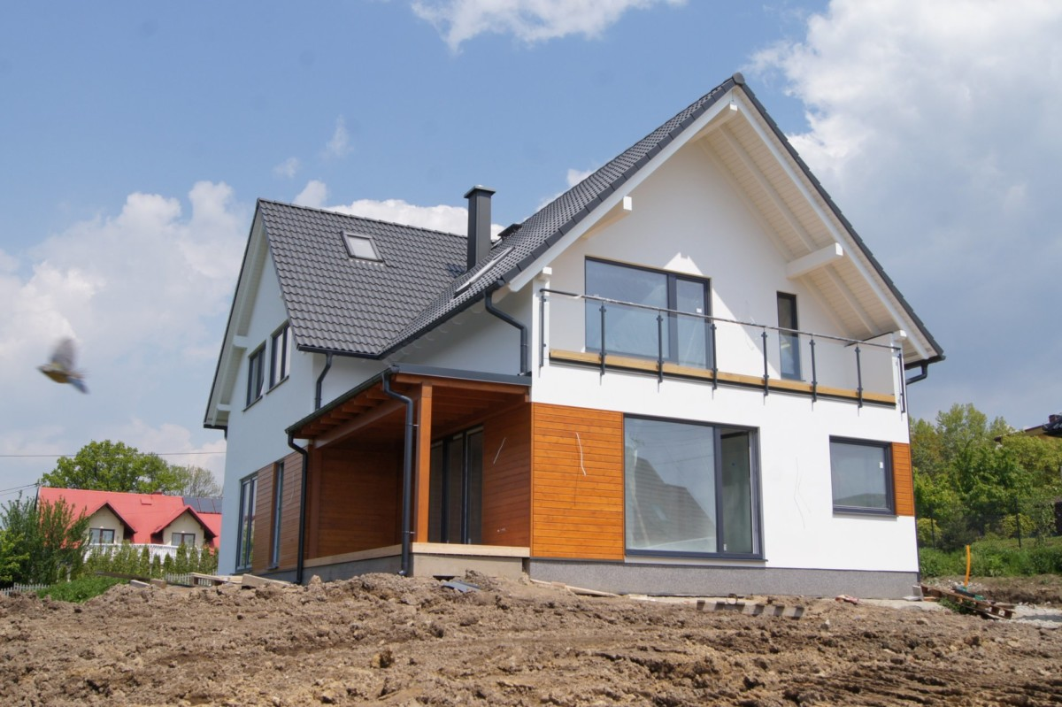 Domikon - Dom z poddaszem użytkowym, <span>Kraków</span>