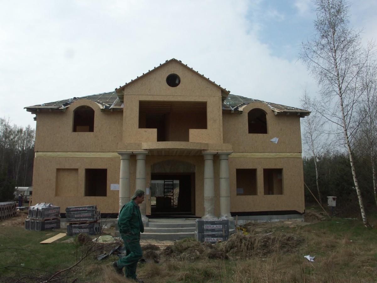 Domikon - Dom z kolumnami, <span>Łomianki</span>