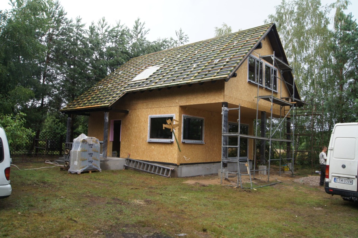 Domikon - Dom drewniany, <span>Warszawa</span>