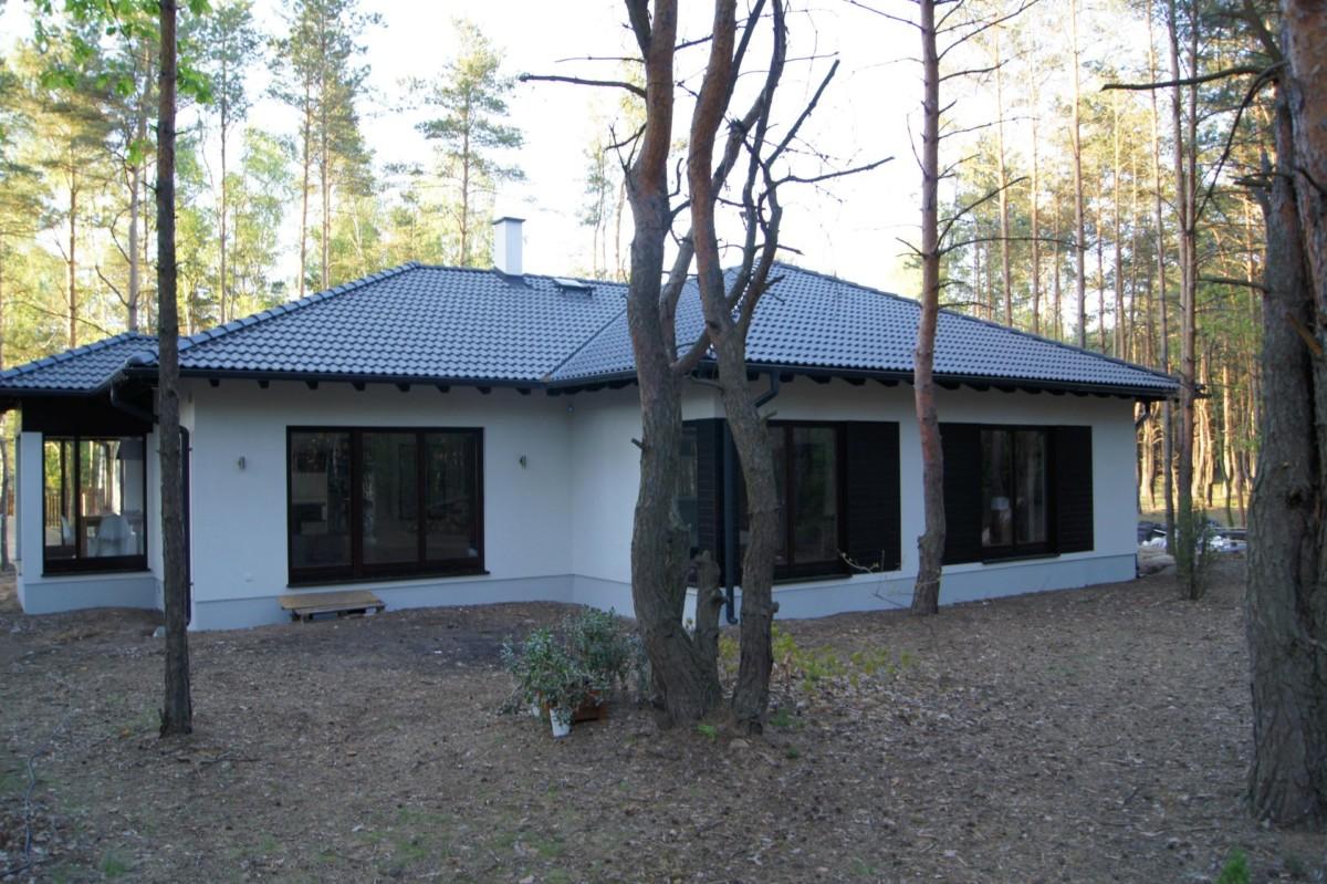 Domikon - Nowoczesny dom parterowy, <span>Warszawa</span>