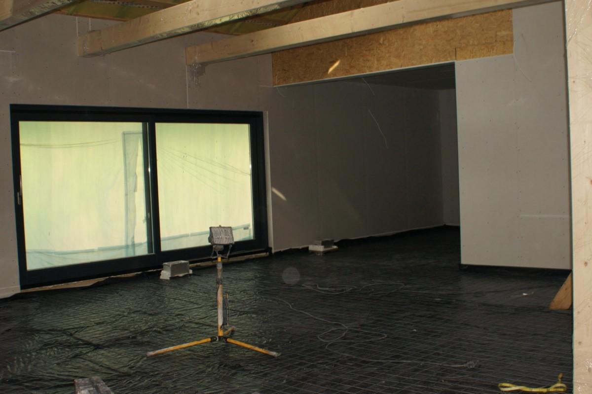 Domikon - Dom z otwartym stropem nad salonem, <span>Warszawa</span>