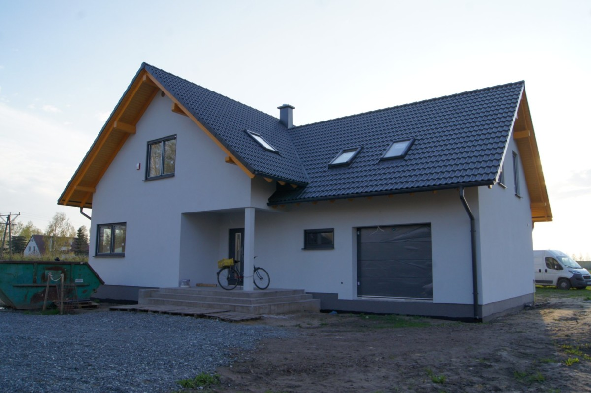 Domikon - Nowoczesny dom rodzinny, <span>Wrocław</span>