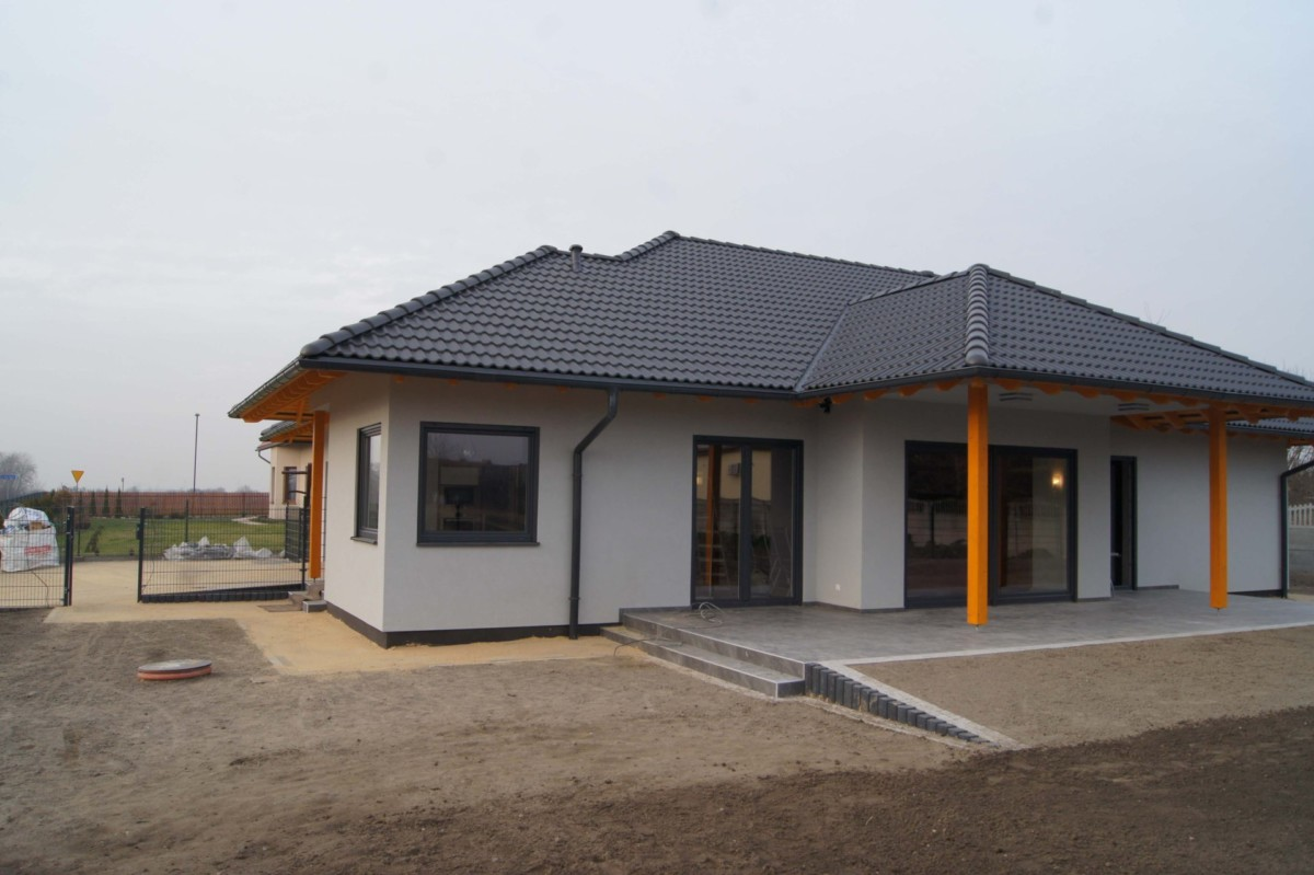 Domikon - Nowoczesny Dom Parterowy, <span>Zabrze</span>