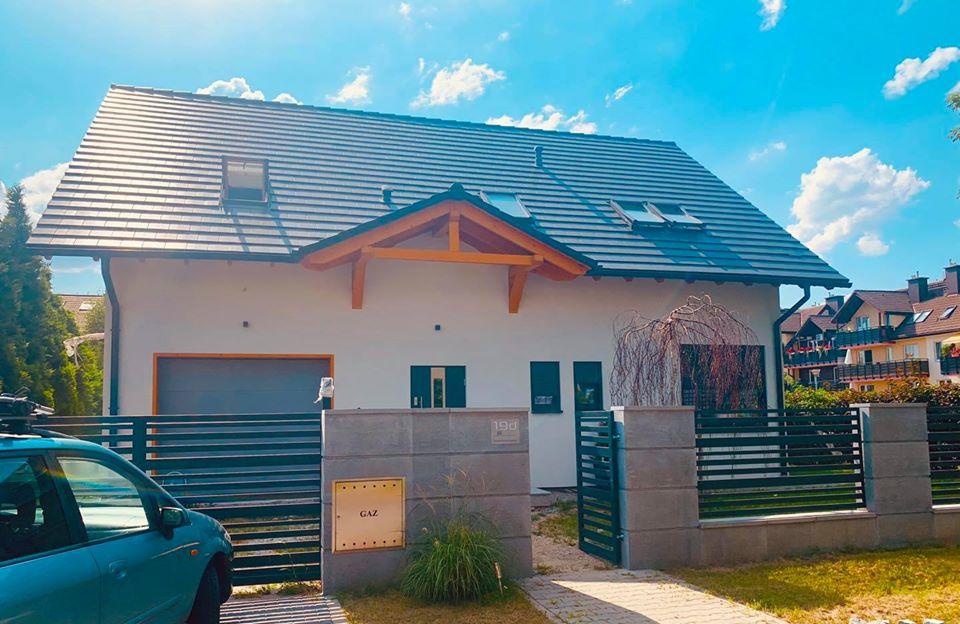 Domikon - Dom z garażem jednostanowiskowym, Wrocław