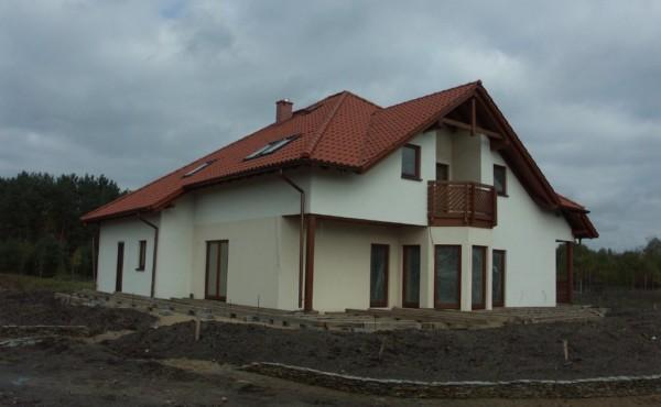 Dom z dachem wielospadowym, Bełchatów