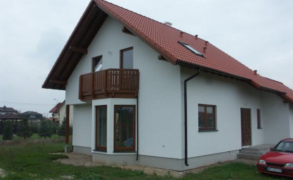Dom jednorodzinny z garażem, Warszawa Babice