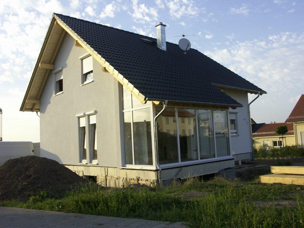 Domikon - Dom z dachem dwuspadowym, Niemcy Karlsruhe