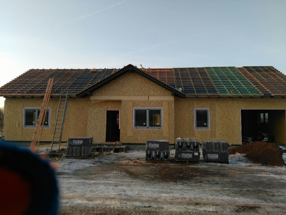 Domikon - Dom parterowy z garażem, Warszawa