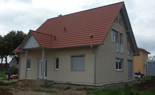 Dom z garażem jednostanowiskowym, Niemcy Dilingen