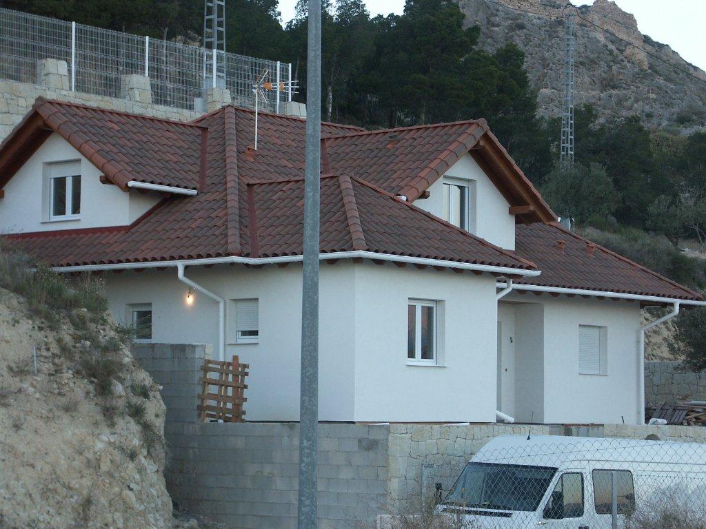 Domikon - Dom na zboczu, Hiszpania Xixona
