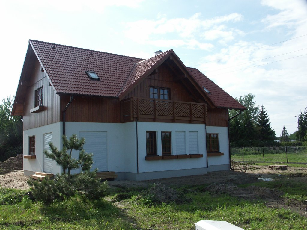 Domikon - Dom z dużym balkonem, Warszawa Konstancin