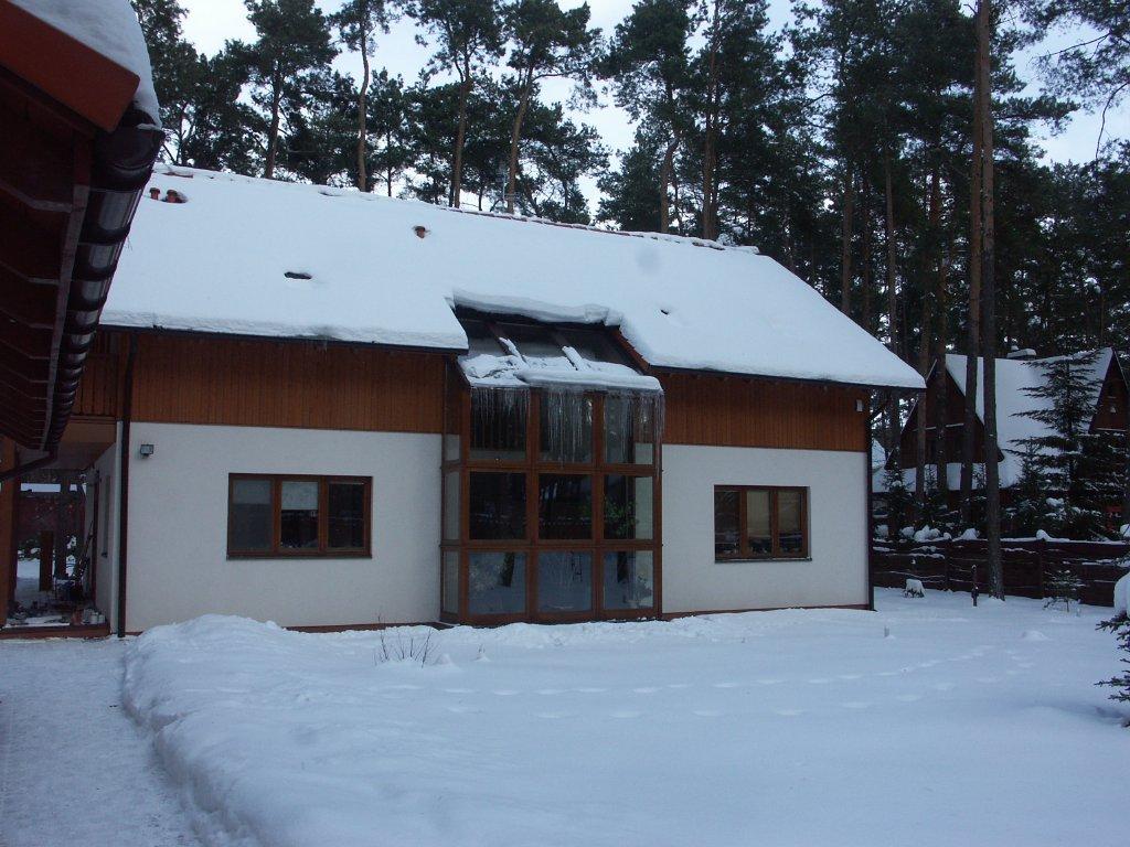 Domikon - Dom z przeszkleniem, Warszawa Magdalenka