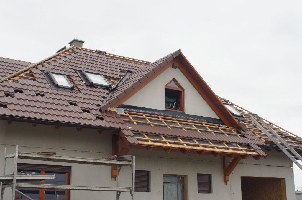 Domikon - Dom z poddaszem użytkowym, Warszawa Leszno