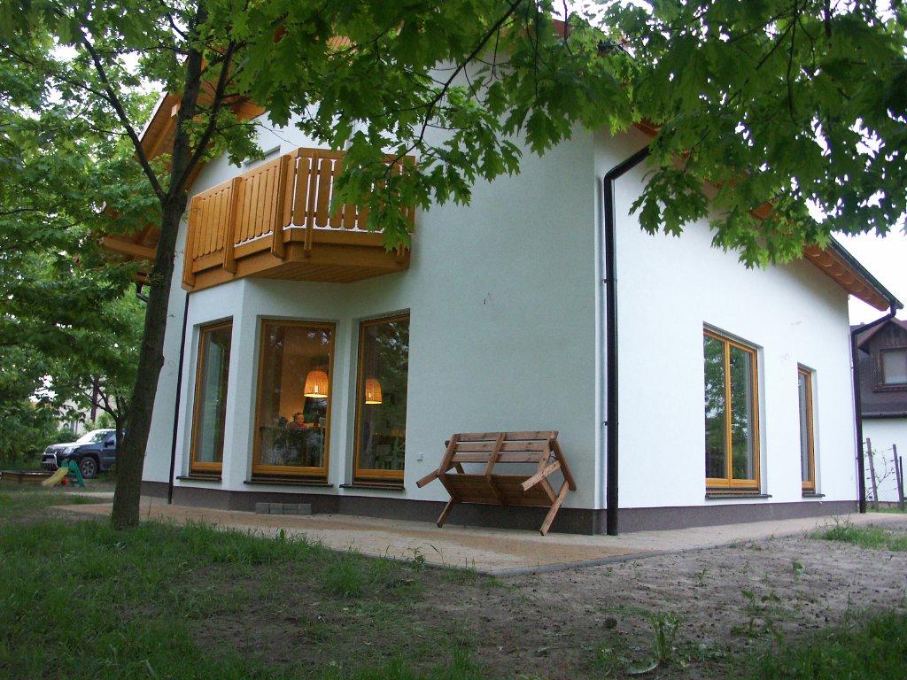 Domikon - Dom z poddaszem , Warszawa Łomianki