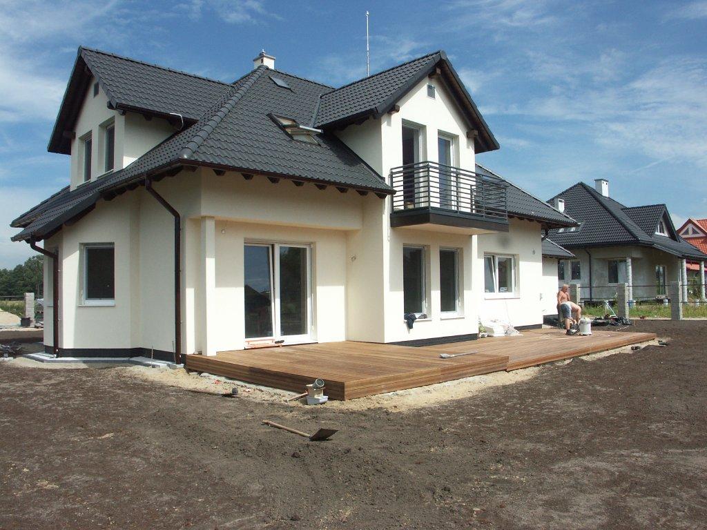 Domikon - Klasyczny dom jednorodzinny, Warszawa Olesin