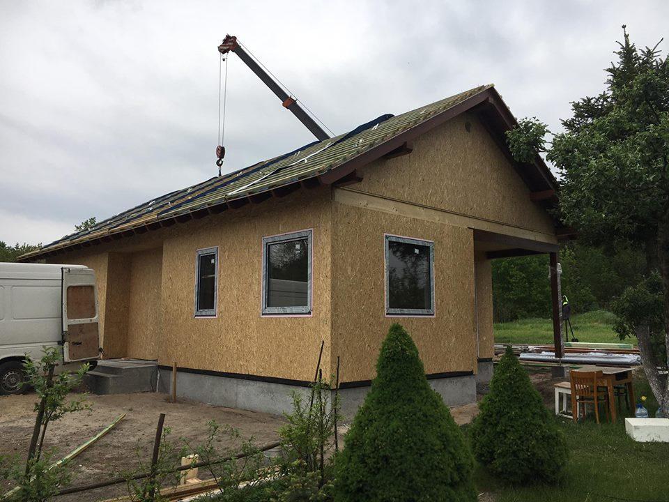 Domikon - Parterowy dom z garażem, Warszawa Marki