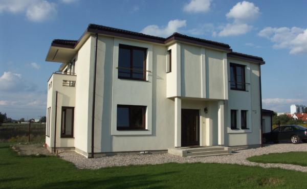 Nowoczesny dom piętrowy, Warszawa Ursus