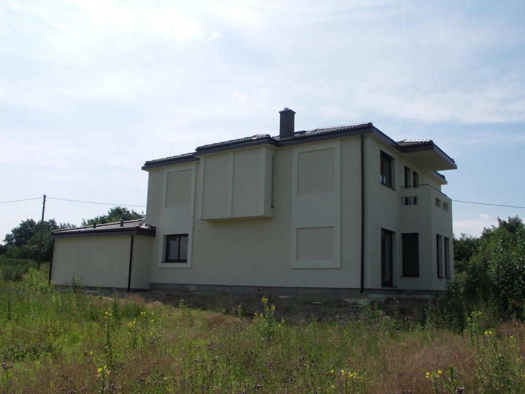 Domikon - Nowoczesny dom piętrowy, Warszawa Ursus