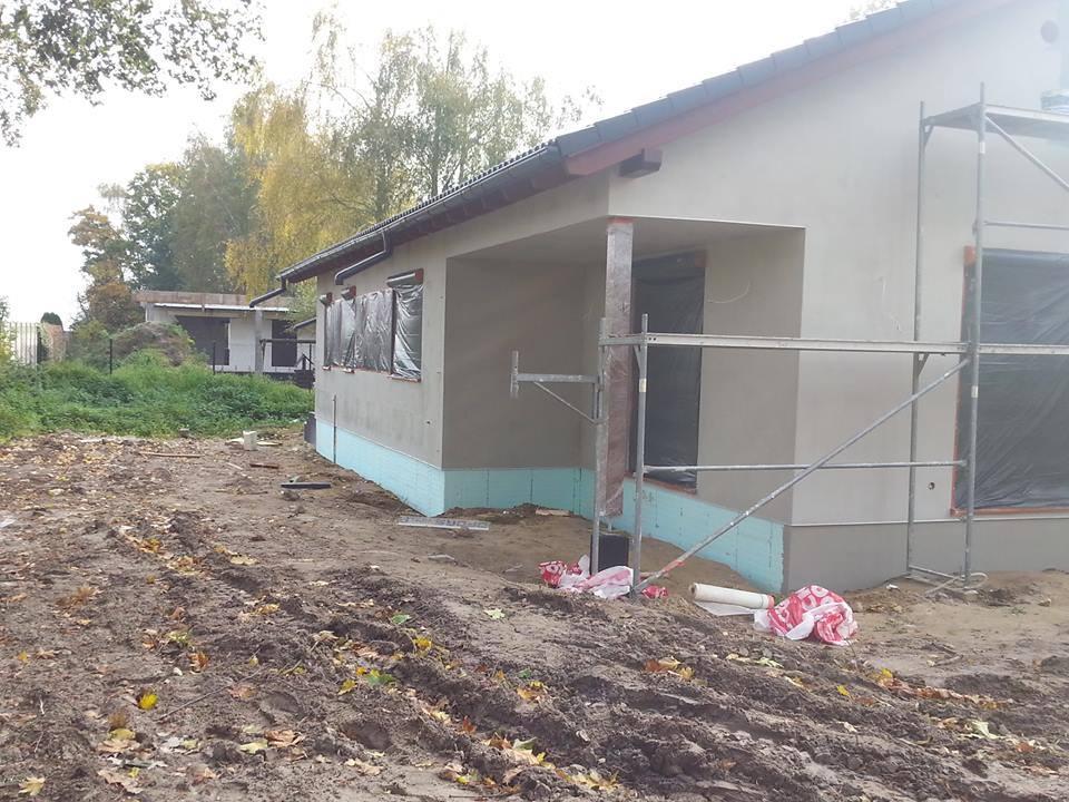 Domikon - Parterowy dom z garażem, Warszawa Bramki