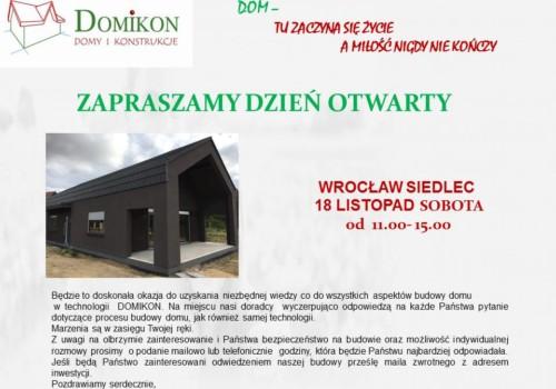 Dzień Otwarty na budowie, Siedlec Trzebnicki