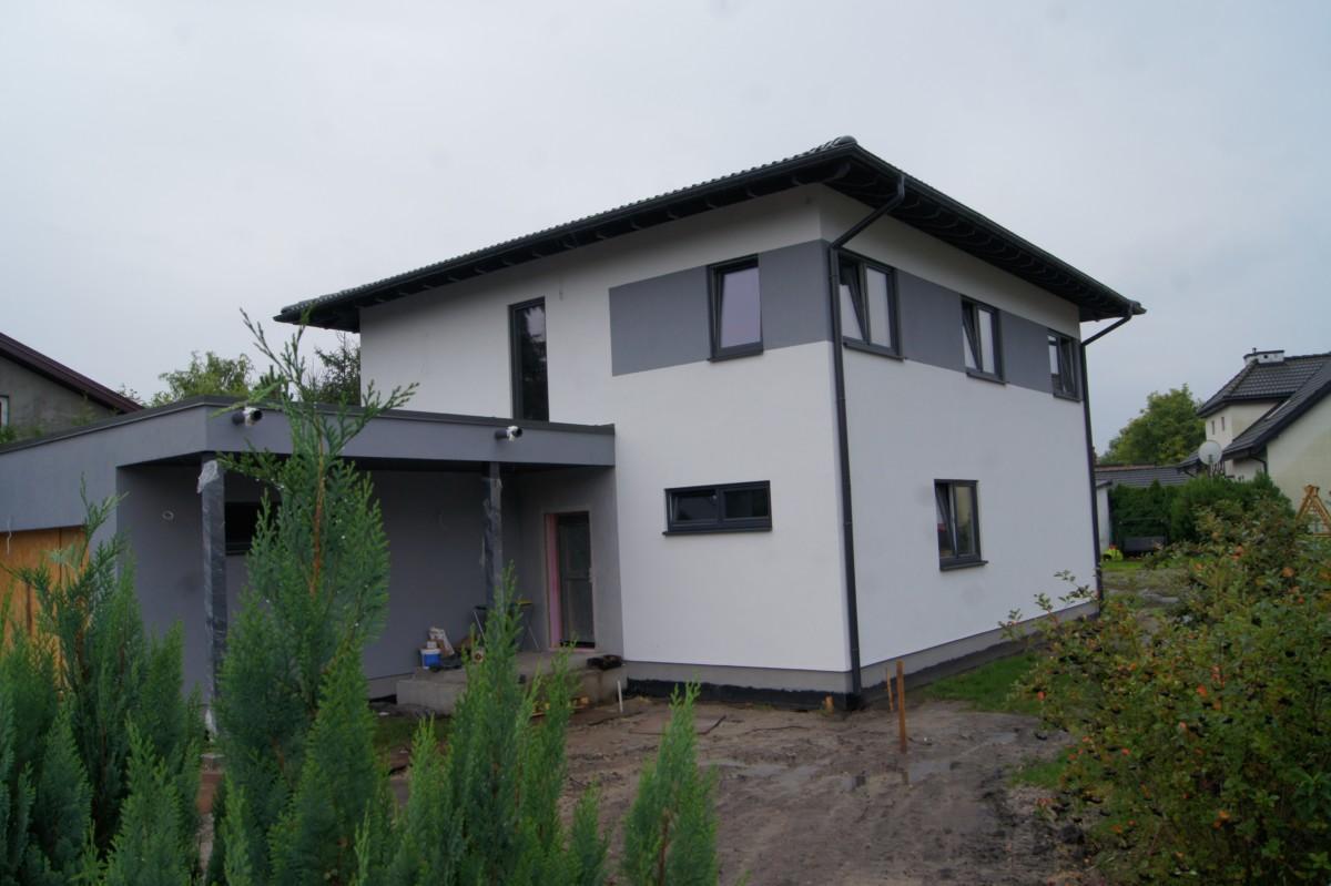 Domikon - Dom piętrowy, Warszawa Błonie.