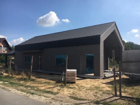 Domikon - Nowoczesny dom parterowy, Siedlec
