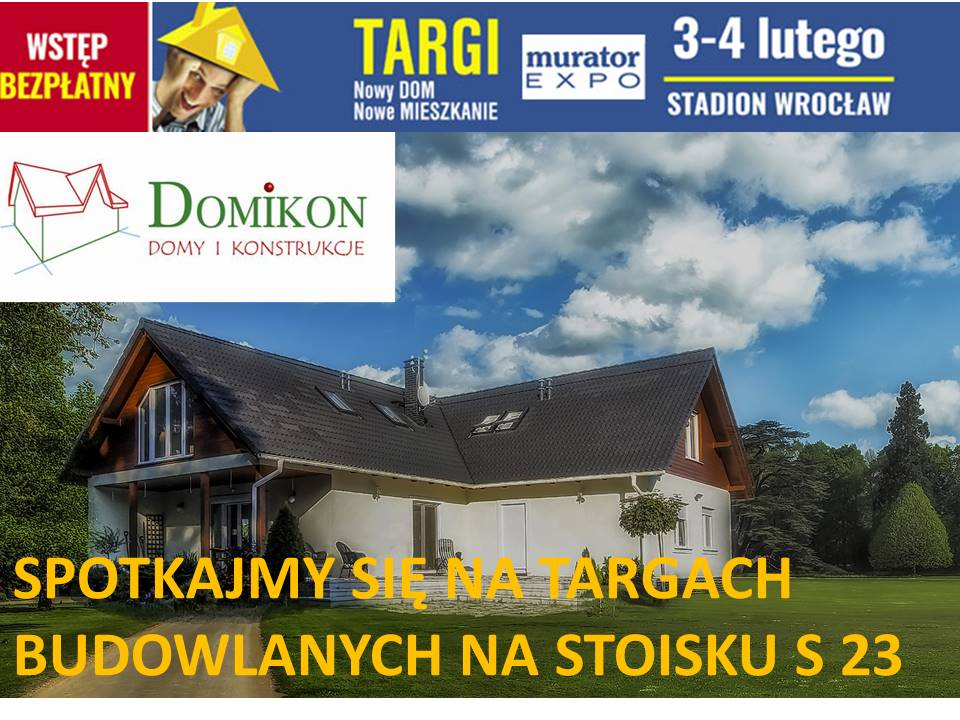 Domikon - TARGI WROCŁAW 3-4 LUTEGO