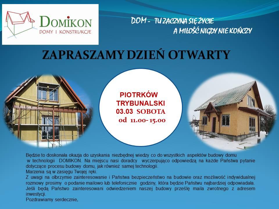 Domikon - Dzień Otwarty na budowie, Piotrków Trybunalski 03.03