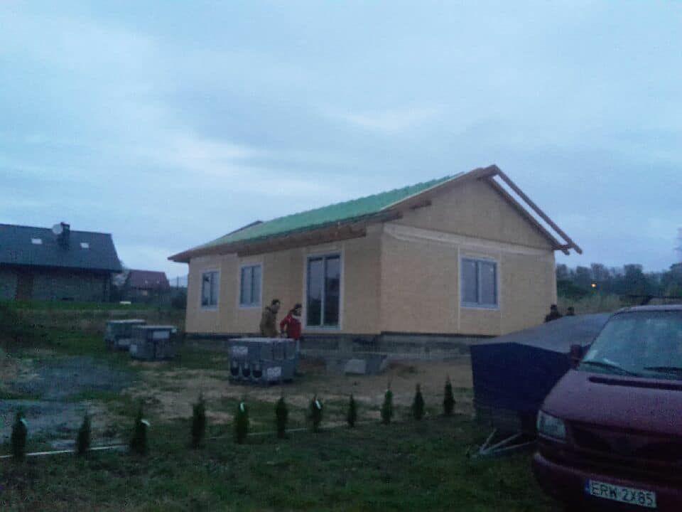 Domikon - Parterowy dom energooszczędny, Mikołów.
