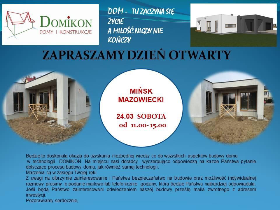 Domikon - Zapraszamy 24.03 na Dzień Otwarty