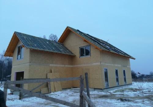 Dom energooszczędny pod Krakowem