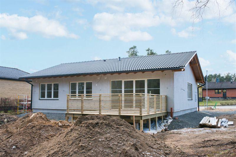 Domikon - Parterowy dom energooszczędny  w Szwecji