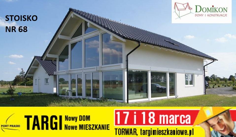 Domikon - Zapraszamy na Targi w Warszawie 17-18 marzec