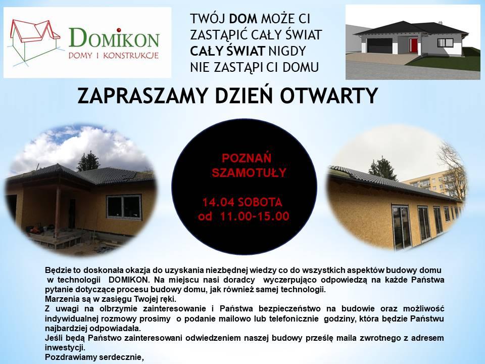 Domikon - Dzień Otwarty na budowie w Poznaniu