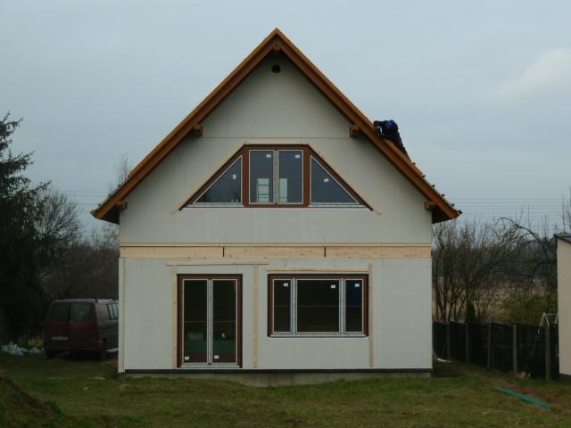 Domikon - Dom z poddaszem użytkowym, Częstochowa.