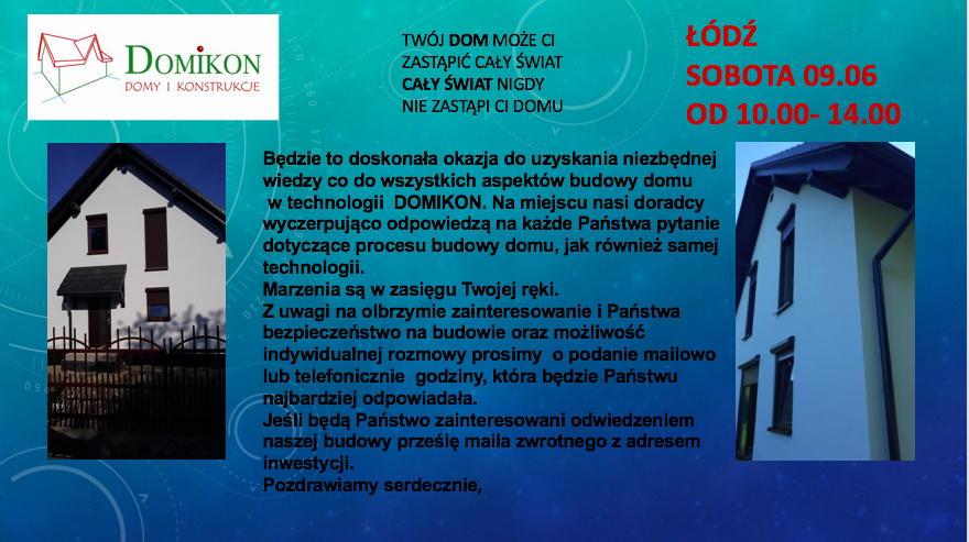Domikon - Dzień Otwarty w Łodzi 09.06