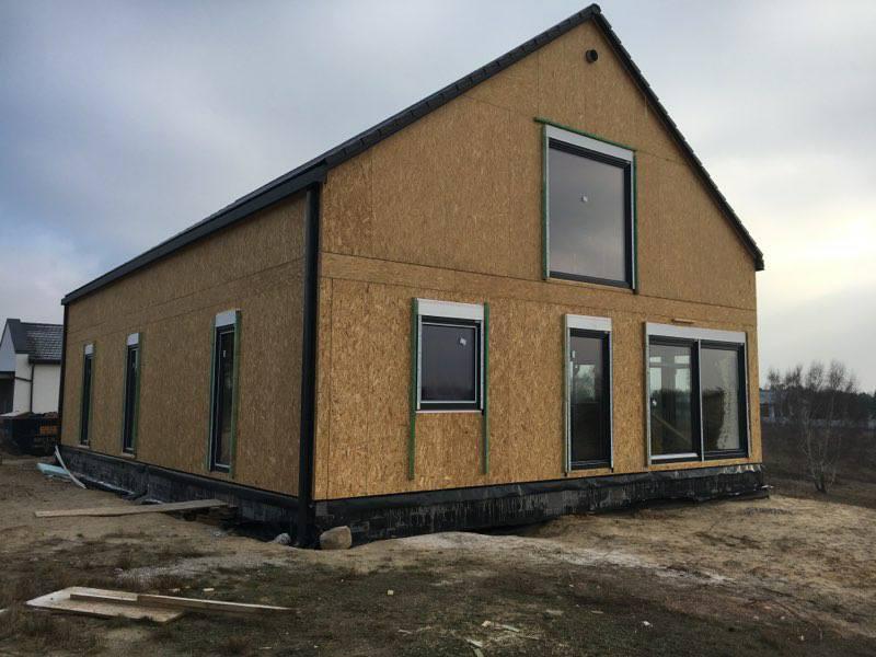 Domikon - Dom z poddaszem użytkowym, Szczecin