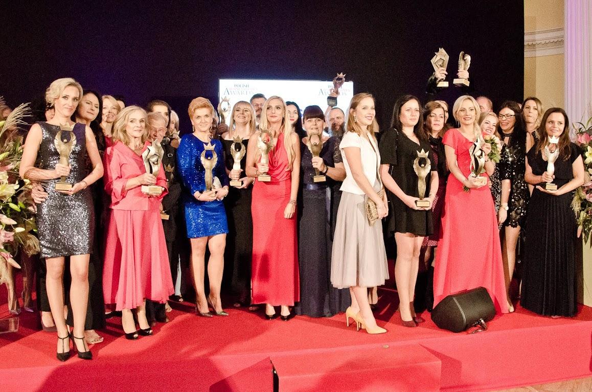 Domikon - Prezes firmy Domikon Anna Wysocka otrzymała statuetkę na Businesswoman Awards