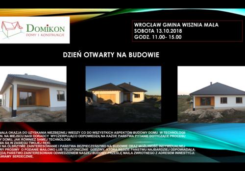 Zapraszamy na Dzień Otwarty w okolicach Wrocławia- 13.10 sobota