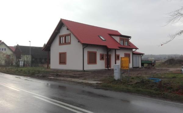 Dom jednorodzinny z poddaszem użytkowym, Lubsko