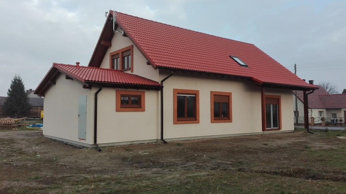 Domikon - Dom jednorodzinny z poddaszem użytkowym, Lubsko