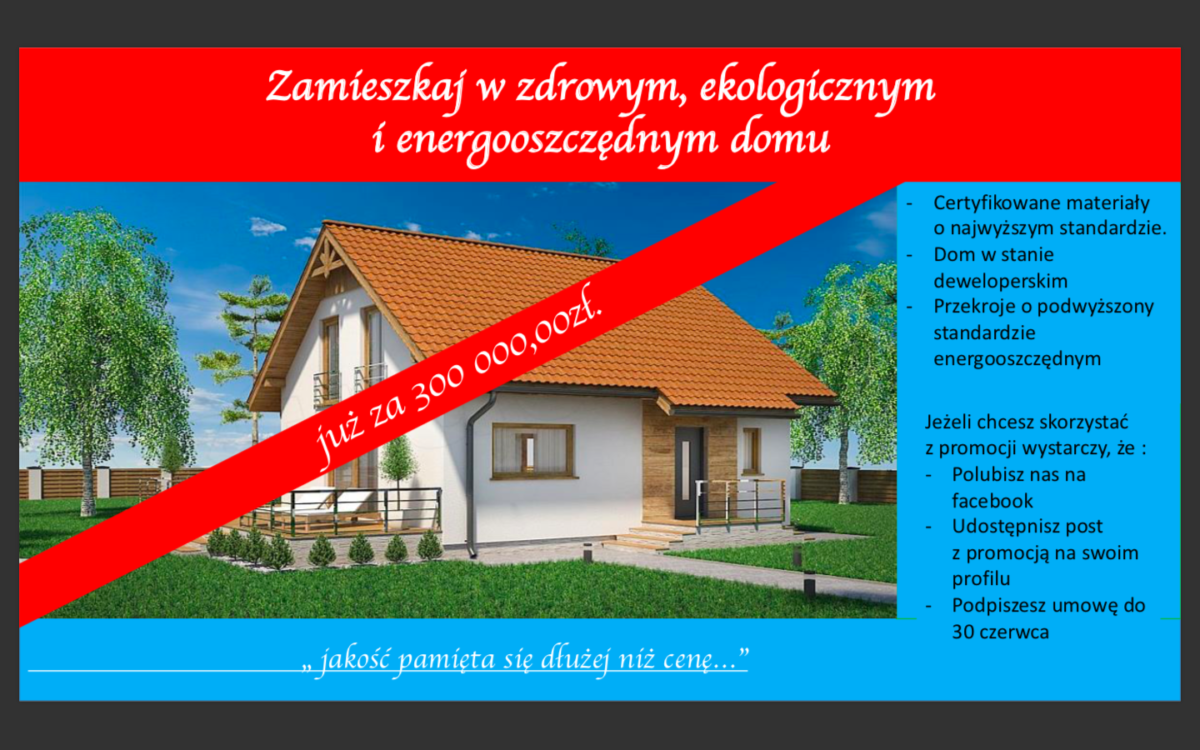 Domikon - PROMOCJA