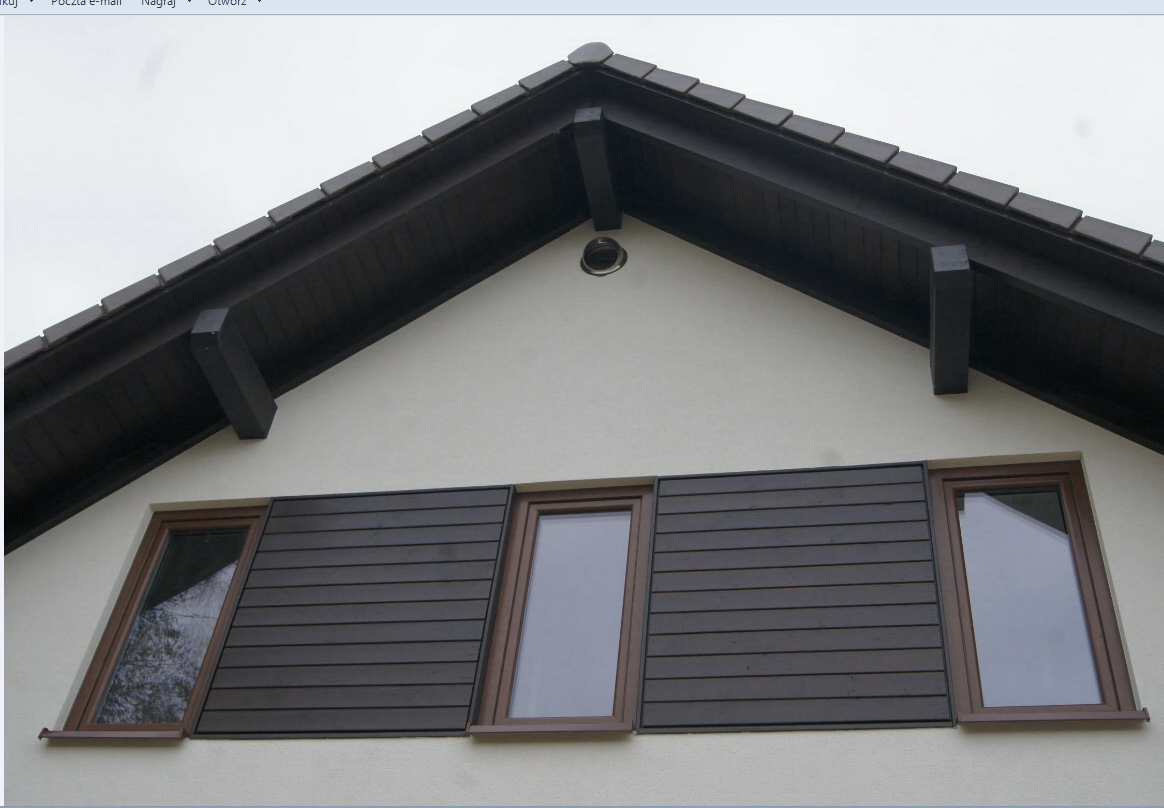 Domikon - Energooszczędny dom z garażem, Łódź.