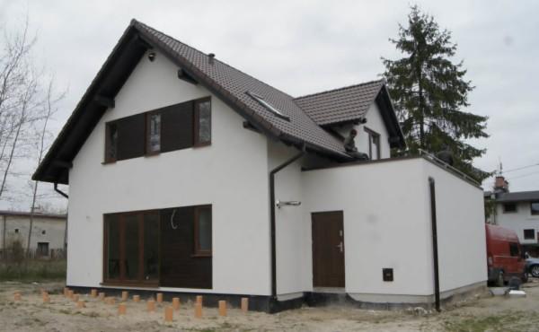 Energooszczędny dom z garażem, Łódź.