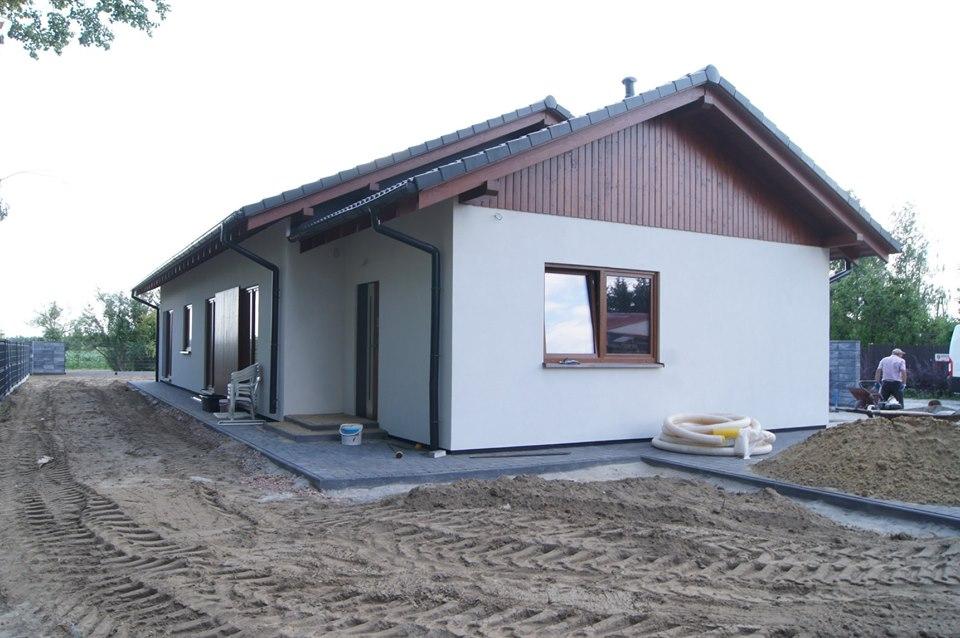 Domikon - Parterowy dom z garażem, Warszawa.