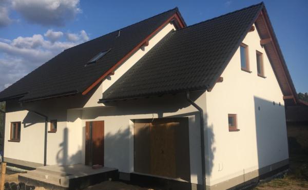 Jednorodzinny dom z poddaszem, Łódź