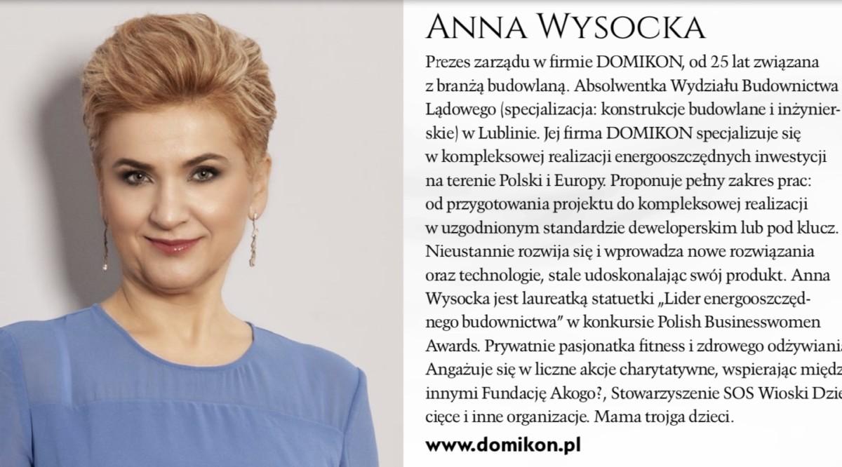 Domikon - Raport Business Woman&life