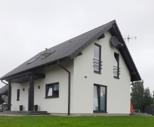 Dom jednorodzinny, Czerniewice